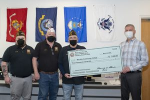 VFW Present $3,000 To Wor-Wic  Community College