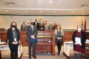 County Commissioners Proclaim March Professional Social Work Month
