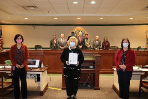 Worcester County Commissioners Proclaim March Women's History Month