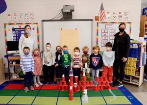 Worcester Pre-K Create & Design Buildings From Cups