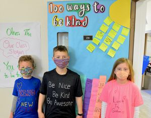 Worcester Prep Fourth Graders Show Off Message Of Kindness T-Shirts