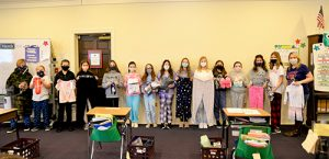 """Worcester Fifth Graders Celebrate 100th Day With """"Pajama-Comfy-Thon"""""""