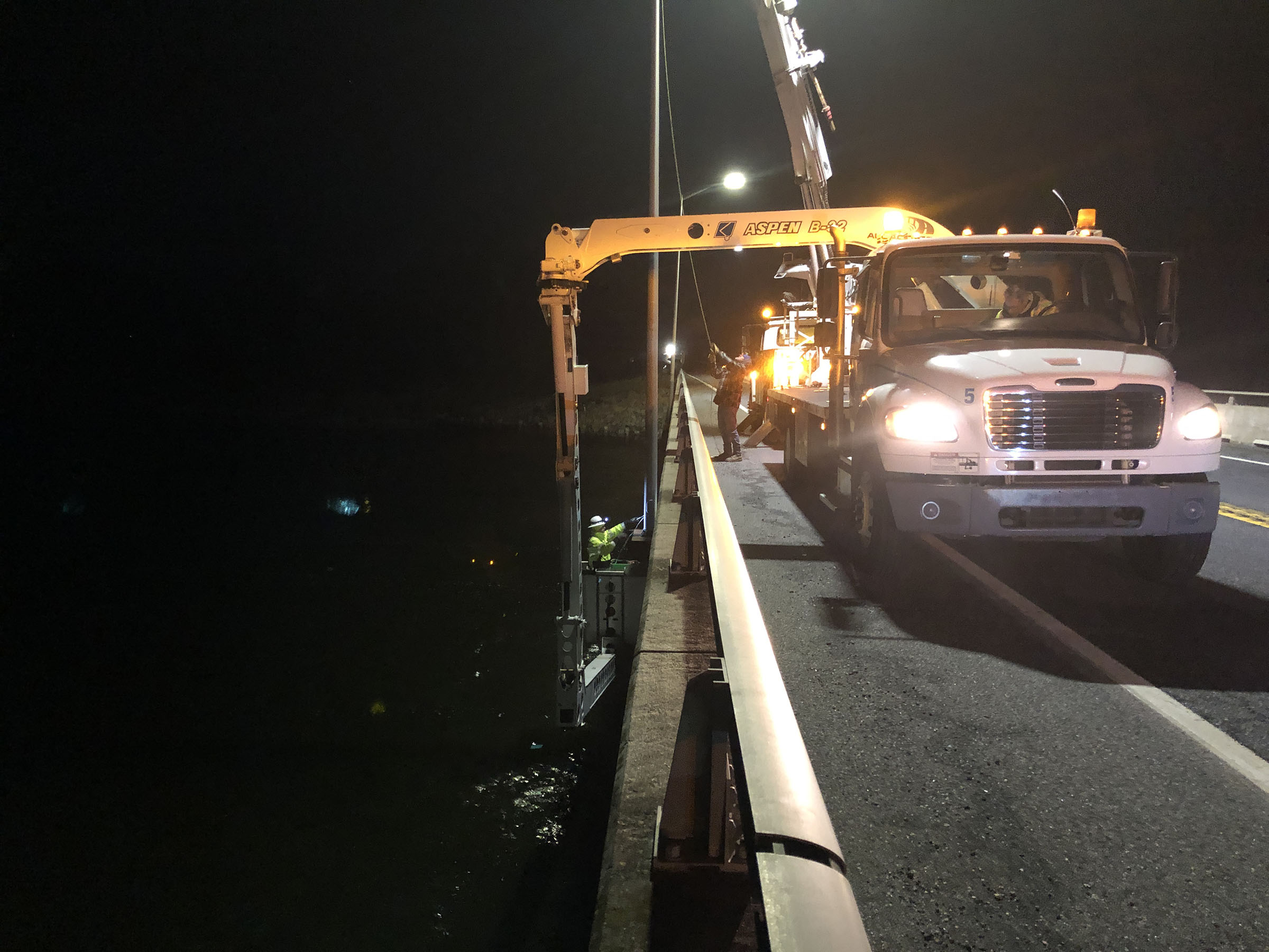 Route 90 project completed one day early
