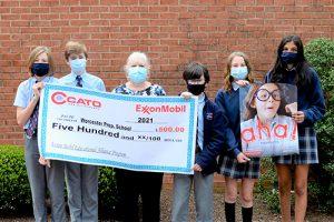 Cato Inc. Awards Worcester Prep $500 ExxonMobil Grant