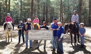 OC Lions Visit Therapeutic Riding Program