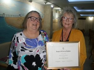 DAR Posthumously Honors Ann Lockhart Showell