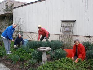 Worcester County Garden Club Spruce Up Ruth Bowie Butterfly Garden