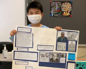 OCES 4th Graders Research Famous Marylanders