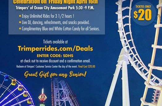 Trimper, Parents Offer Senior Night Of Rides Next Week