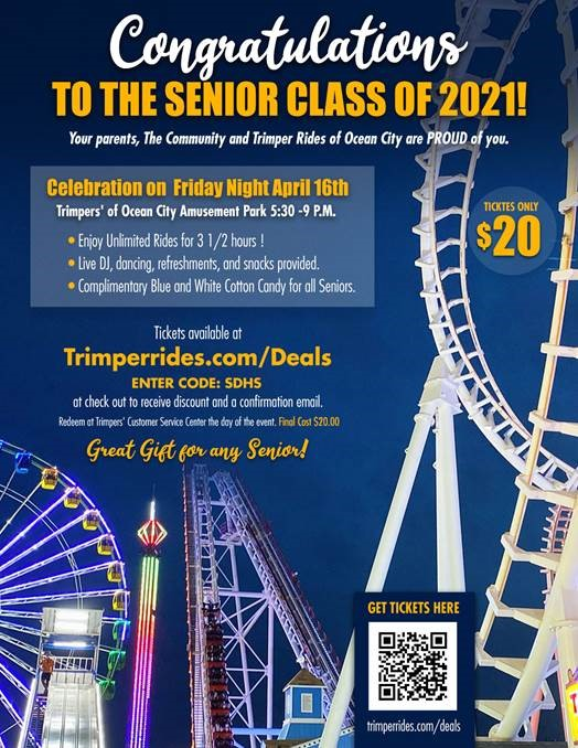 Trimper, Parents Offer Senior Night Of Rides Next Week