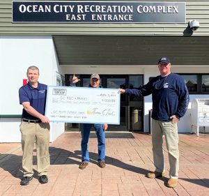 Surf Club Presents $1200 To OC Rec. & Parks For Scholarship