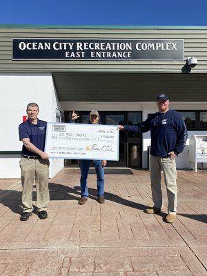 Ocean City Surf Club Presents $1200 For Sponsorship At OC Rec. & Parks