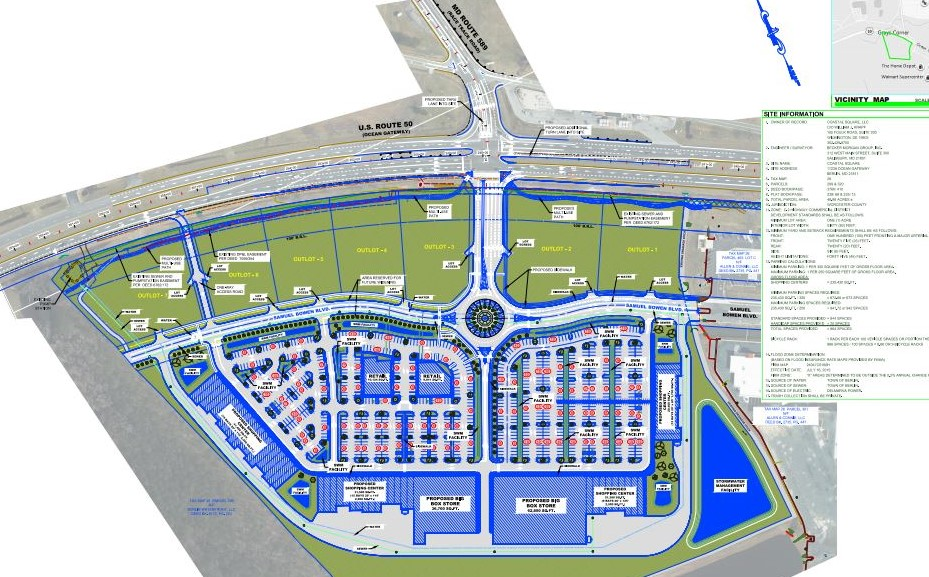 New Shopping Center Plans Discussed Near Route 50, 589 Intersection