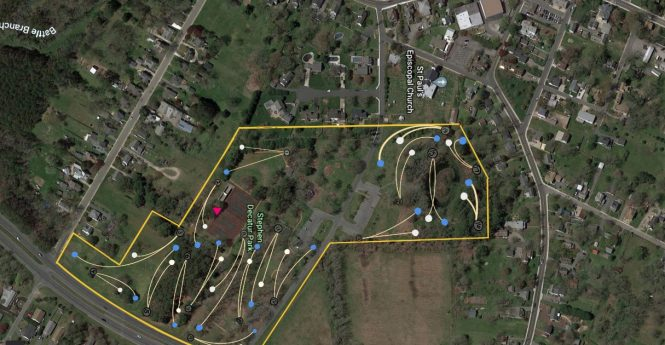 Berlin Disc Golf Concept Supported By Parks Commission