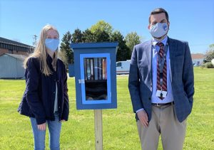 Decatur Key Club Present BIS With Little Free Library