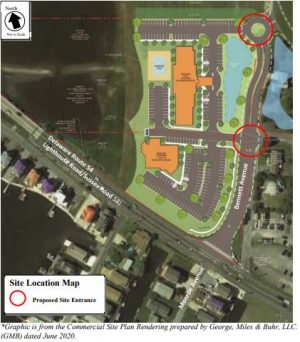 Tie Vote Derails, For Now, Proposed Route 54 Hotel, Restaurant Project