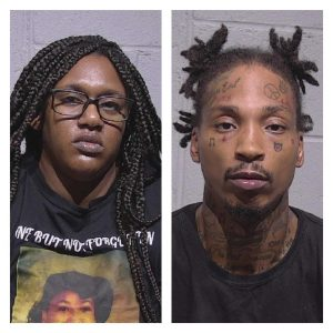 Two Held In Downtown Shooting Incident