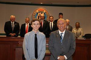 Decatur Senior Receives County Commissioners Commendation
