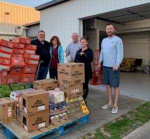Rotarians & Hocker's Grocery Donate To Berlin Food Pantries