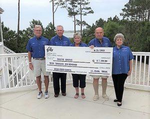 Elks Lodge Donates To Coastal Hospice