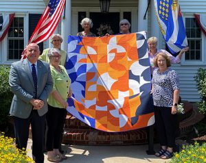Guilt Guild Donates Quilt To Beebe Healthcare