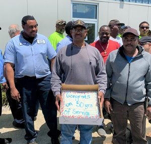 Town Of OC Employee Reaches 50 Year Mark