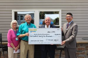 Auxiliary Present $125,000 Donation To Beebe Healthcare