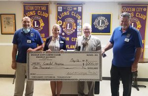 Coastal Hospice Community Relations Manager Speaks With OC Lions