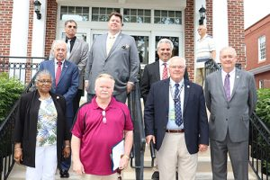 Commissioners Commend Captain Bunting For 40 Years Of Service