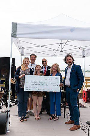 New Cambria Hotel Presents Donation OC Surf Club