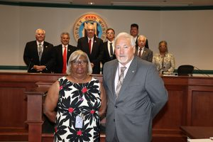 County Commissioners Commend Judicial Clerk For 36 Years Of Service