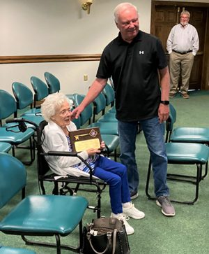 Long-Time Local Resident Celebrated On Her 96th Birthday