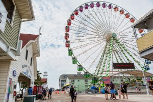 The Big Wheel Expected Back In Operation Saturday; Ride Owner Relocates Ferris Wheel To Avoid Zoning Infraction