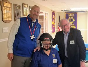 OC Lions Club Donates Money To Stephen Decatur For Better Football Helmets