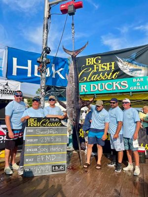 FFMD Take Second Place Biggest Fish At Tourney
