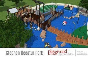 Henry Park Lighting Tops Open Space List