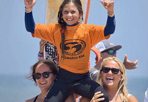 Ocean City Hosts Maryland State Surfing Championships