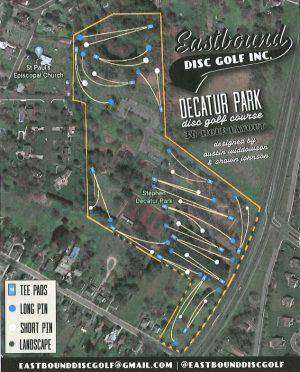 Berlin Approves Trial Disc Golf Effort Decatur Park In August