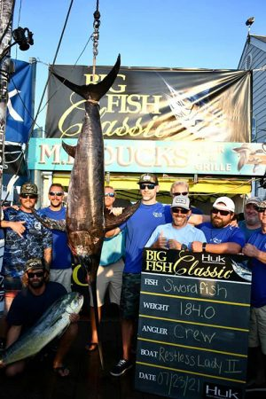 Restless Lady Crew Take Third In Big Fish Category During Big Fish Classic