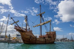 Replica Santa Maria Ship Set For Extended Stay In Ocean City