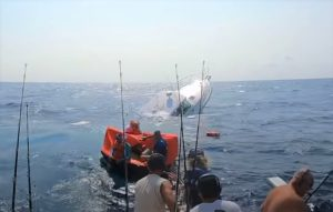 White Marlin Open Boat Rescued Fellow Competitors While Their Boat Sank Offshore