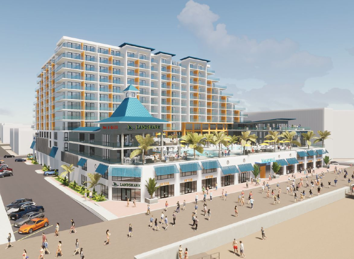 Margaritaville Resort Planned For Old Phillips Beach Plaza Property; Planners Endorse Alley Conveyance