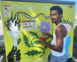 Pocomoke Artist Turns Talent On Ocean City Utility Boxes