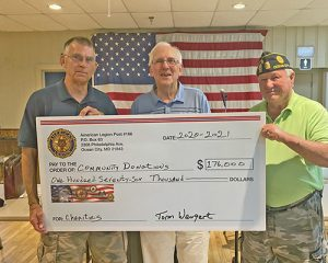 American Legion Donations Total $176,000 For The Year