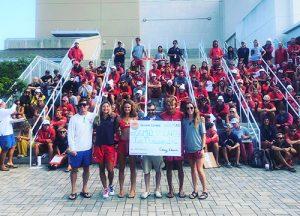 Ocean Games Donates $2000 To OCBP Competition Team