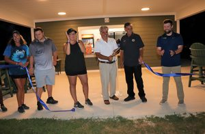 Showell Park Cuts Ribbon On New Concession Stand; Kicks Off Outdoor Movie Night