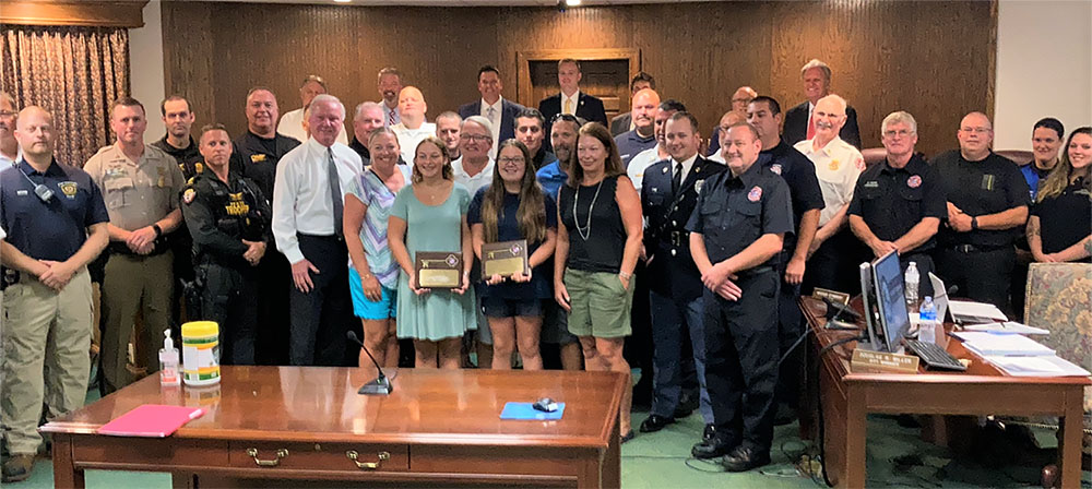 Citizens, First Responders Honored For May Bay Rescue