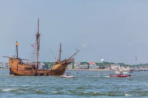 Replica Tall Ship Arrives For Three-Week Resort Stay