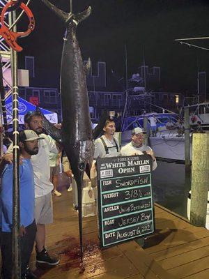 State Swordfish Record Falls In WMO