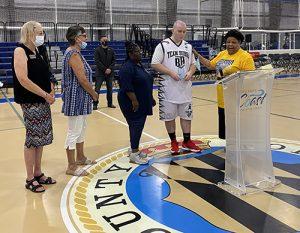 Worecester Rec. Center Hosts Celebrity Basketball Game
